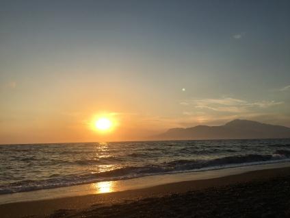 Ein Sonnenuntergang...